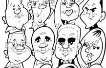 Live Caricatures 19