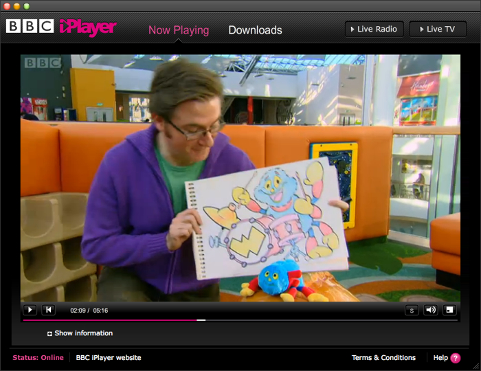 Woolly & Tig screen grab