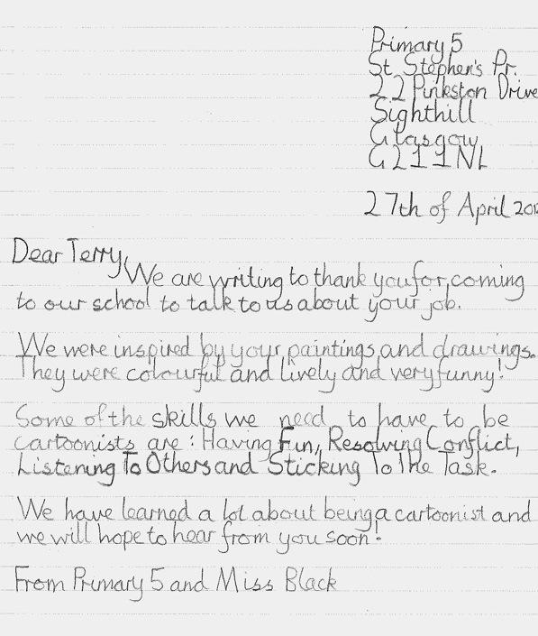 St.Stephen's Letter