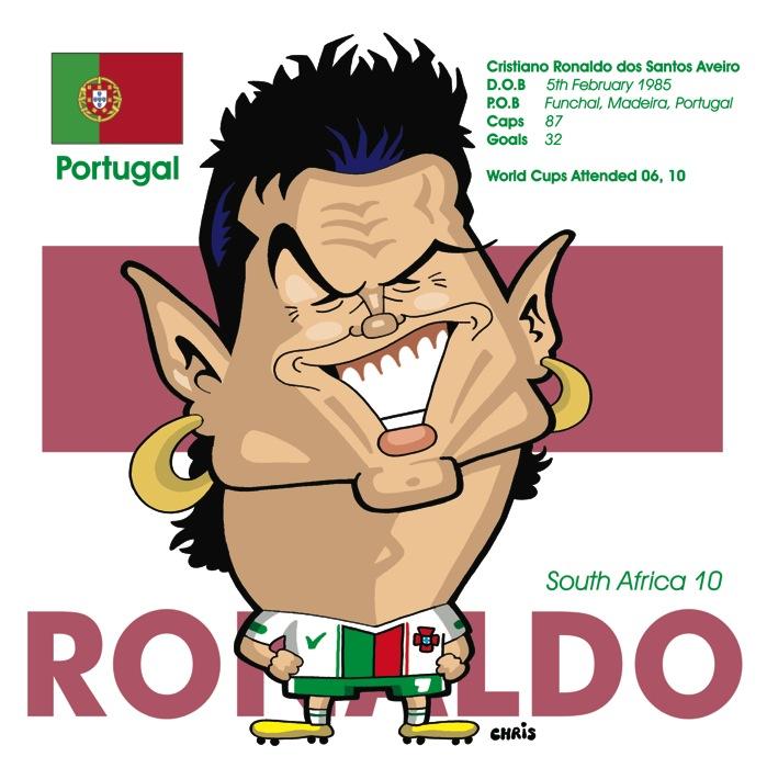 Fizzers Cristiano Ronaldo