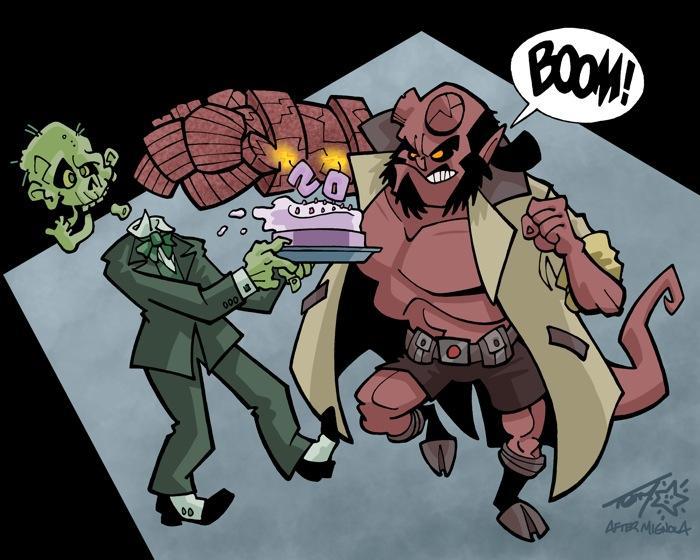 """""""Hellboy"""" is © Mike Mignola,™ & ® Dark Horse Comics"""