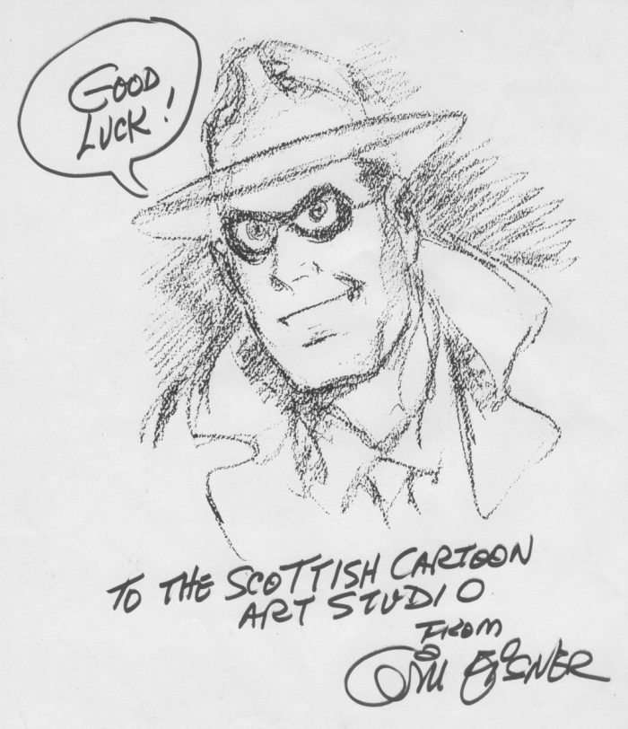 Will Eisner Sketch