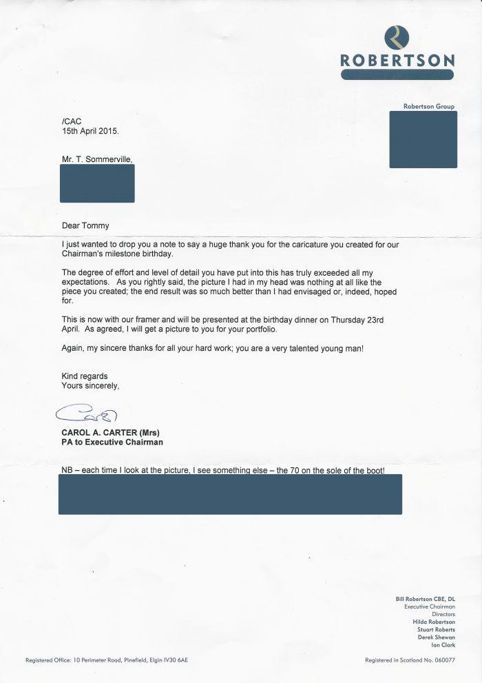 Roberston feedback letter redacted