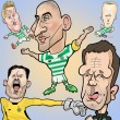 Caricatures and more for new CELTIC SOCIAL app