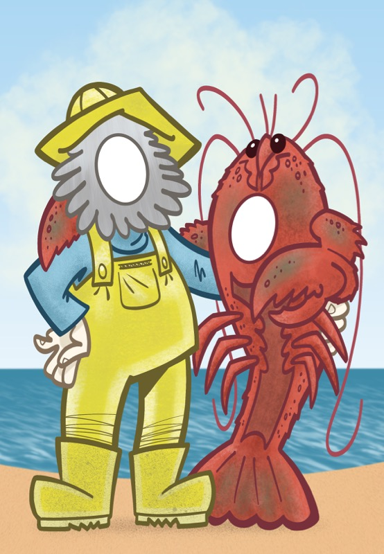 Fisherman mock up