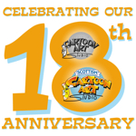 Scottish Cartoon Art Studio, Glasgow: celebrating 18 years in business