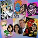 40th birthday caricature bonanza!